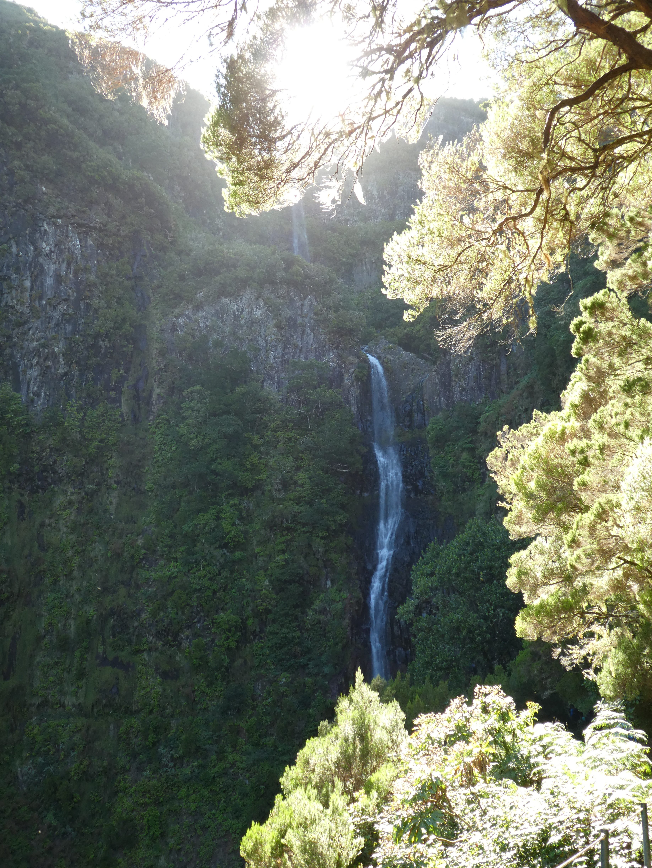 Risco-Wasserfall Madeira